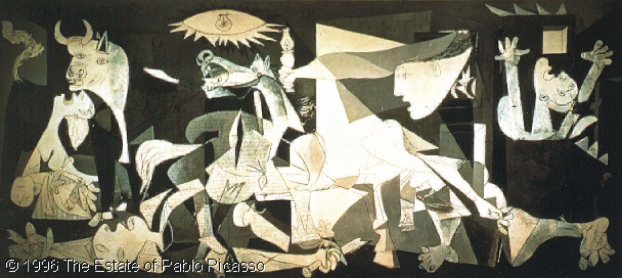 Picasso Paintings Picasso Guernica Painting